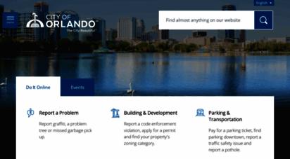 cityoforlando.net - city of orlando  the official website of the city beautiful