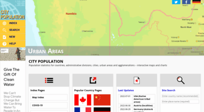 citypopulation.de - city population - population statistics in maps and charts for cities, agglomerations and administrative divisions of all countries of the world