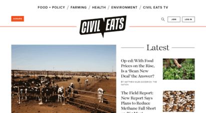 civileats.com - civil eats - promoting critical thought about sustainable agriculture and food systems
