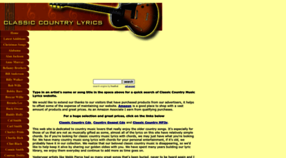 classic-country-song-lyrics.com