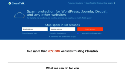 cleantalk.org - anti spam plugin - spam protection by cleantalk