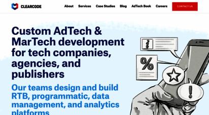 clearcode.cc - custom adtech & martech development - clearcode