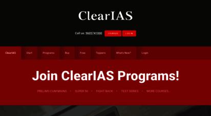 clearias.com - clearias - upsc online preparation