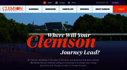 clemson.edu - clemson university, south carolina