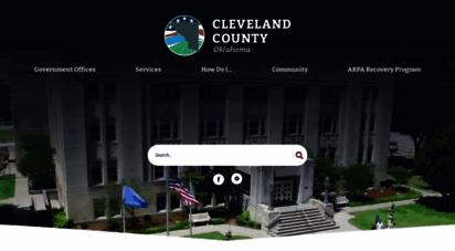 clevelandcountyok.com - cleveland county, ok - official website  official website