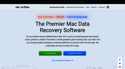 cleverfiles.com - disk drill - best free mac data recovery software in 2020!