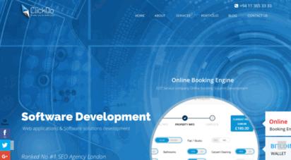 clickdo.lk - digital marketing agency in sri lanka - web services company  clickdo solutions