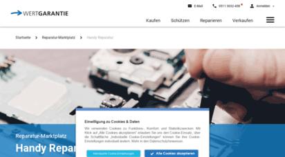 clickrepair.de - handy reparatur einfach online finden  clickrepair.de