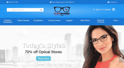 clickshades.com - clickshades: cheap eyeglsss and sunglsss with free us/48 state shipping. - clickshades.com