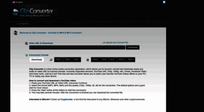 clipconverter.cc - youtube to mp4 & mp3 converter - clipconverter.cc