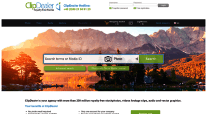 clipdealer.com - clipdealer - buy royalty-free photosr, video footage clips, audio and vectors