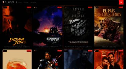 clubpeli.com - 🥇 clubpeli  películas completas online español y latino.
