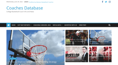 coachesdatabase.com - coaches database  college basketball coach info and news