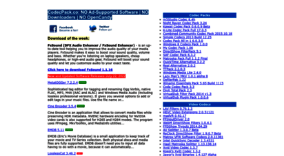 codecpack.co - codecpack.co  download audio video software