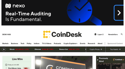 coindesk.com - coindesk — leader in crypto and blockchain news and information.