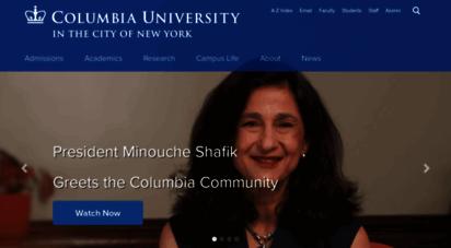columbia.edu - columbia university in the city of new york