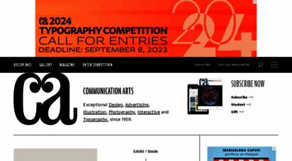 commarts.com - communication arts - home