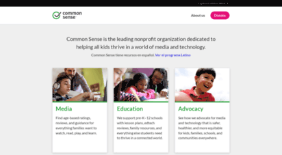 commonsense.org - common sense