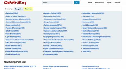 company-list.org -