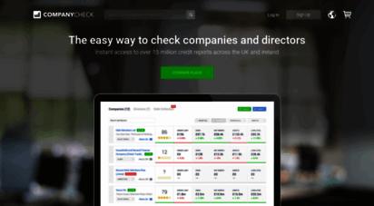 companycheck.co.uk - company check  free company & director information & reports