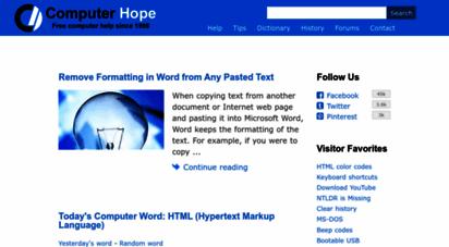 computerhope.com