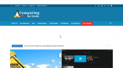 computingforgeeks.com - home  computingforgeeks