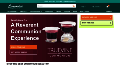 concordiasupply.com - concordia supply  church supplies, church bulletins, vbs 2020, vacation bible school