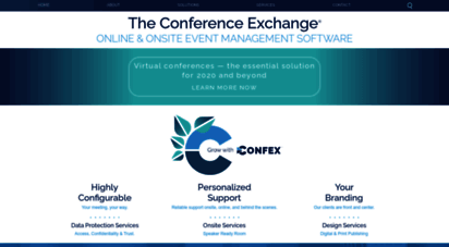 confex.com - conference and abstract management software - confex