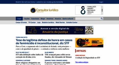 conjur.com.br - consultor jurídico
