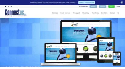 connectnc.com - wordpress web design,hosting nc  wordpress hosting and web design in nc