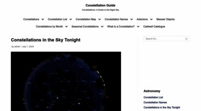 constellation-guide.com - constellation guide