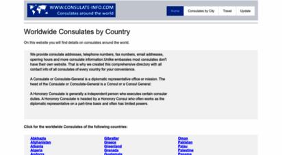 consulate-info.com - foreign consulates abroad - find consulates worldwide