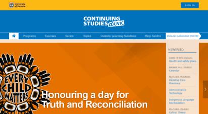 continuingstudies.uvic.ca -