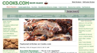 cooks.com - cooks.com  recipe search and more