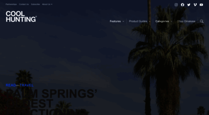coolhunting.com - cool hunting® - informing the future since 2003
