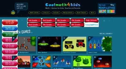 coolmath4kids.com - home  coolmath4kids