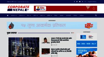 corporatenepal.com - corporate nepal news  media  nepalnews