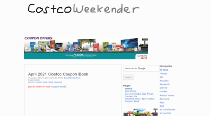 Welcome to Costcoweekender com - Costco Weekender | Making