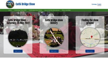 cothibridgeshow.cymru
