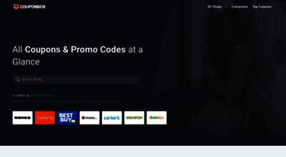couponbox.com - couponbox.com ≫ thousands of coupons & promo codes