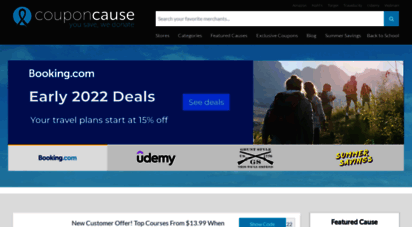 couponcause.com - couponcause - online discount codes & coupons