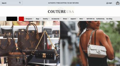 9f9ae16fc2afdc coutureusa.com. Description: Couture USA. Shop Your Favorite Luxury Brands,  Pre-Owned ...
