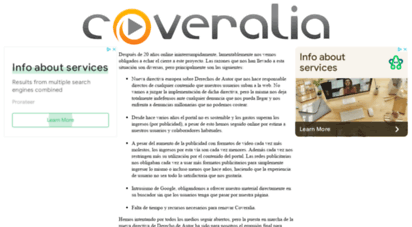 coveralia.com - letras de canciones, caratulas, videoclips, noticias de música - coveralia