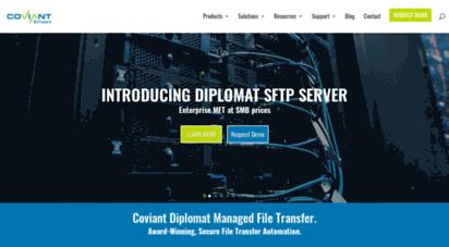 coviantsoftware.com - coviant software - secure, managed file transfer
