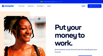 cowrywise.com - the smart way to plan, save and invest online - cowrywise
