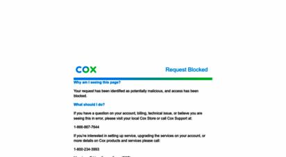 cox.com - cox communications