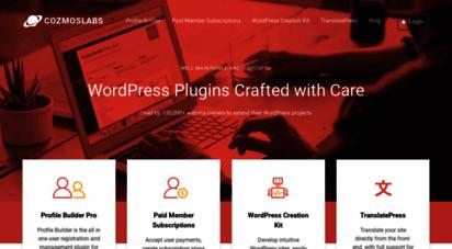cozmoslabs.com - cozmoslabs - premium wordpress plugins & solutions