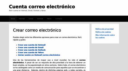 crearcorreo.com.mx - dominio aparcado - pagina .mx