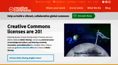 creativecommons.org - when we share, everyone wins - creative commons