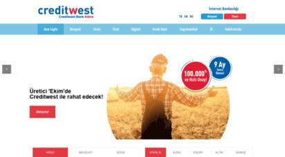 creditwestbank.com - creditwest bank kıbrıs